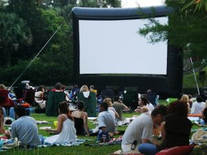Movie Nights at Leu Gardens