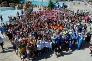 Special Olympics Florida 2018 Polar Plunge at Aquatica, SeaWorld's Water Park