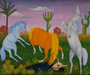 The Unbridled Paintings of Lawrence Lebduska