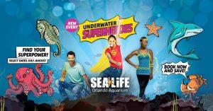 Underwater Superheroes at SEA Life Orlando Aquarium