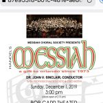 Messiah Choral Society Annual Performance