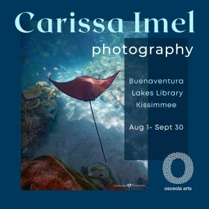 Osceola Arts Art in Public Places presents photography by Carissa Imel