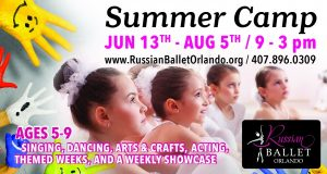 Russian Ballet Orlando Summer Camp