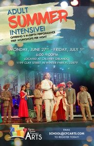 Adult Summer Intensive: Acting, Singing, & Dancing Workshops (16+)
