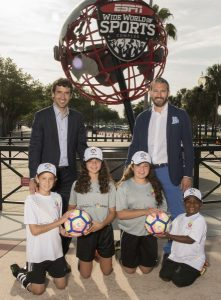 The IdeaSport Soccer Program Presented by LaLiga and Walt Disney World